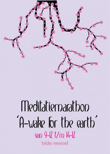 meditatie poster a-wake for the earth